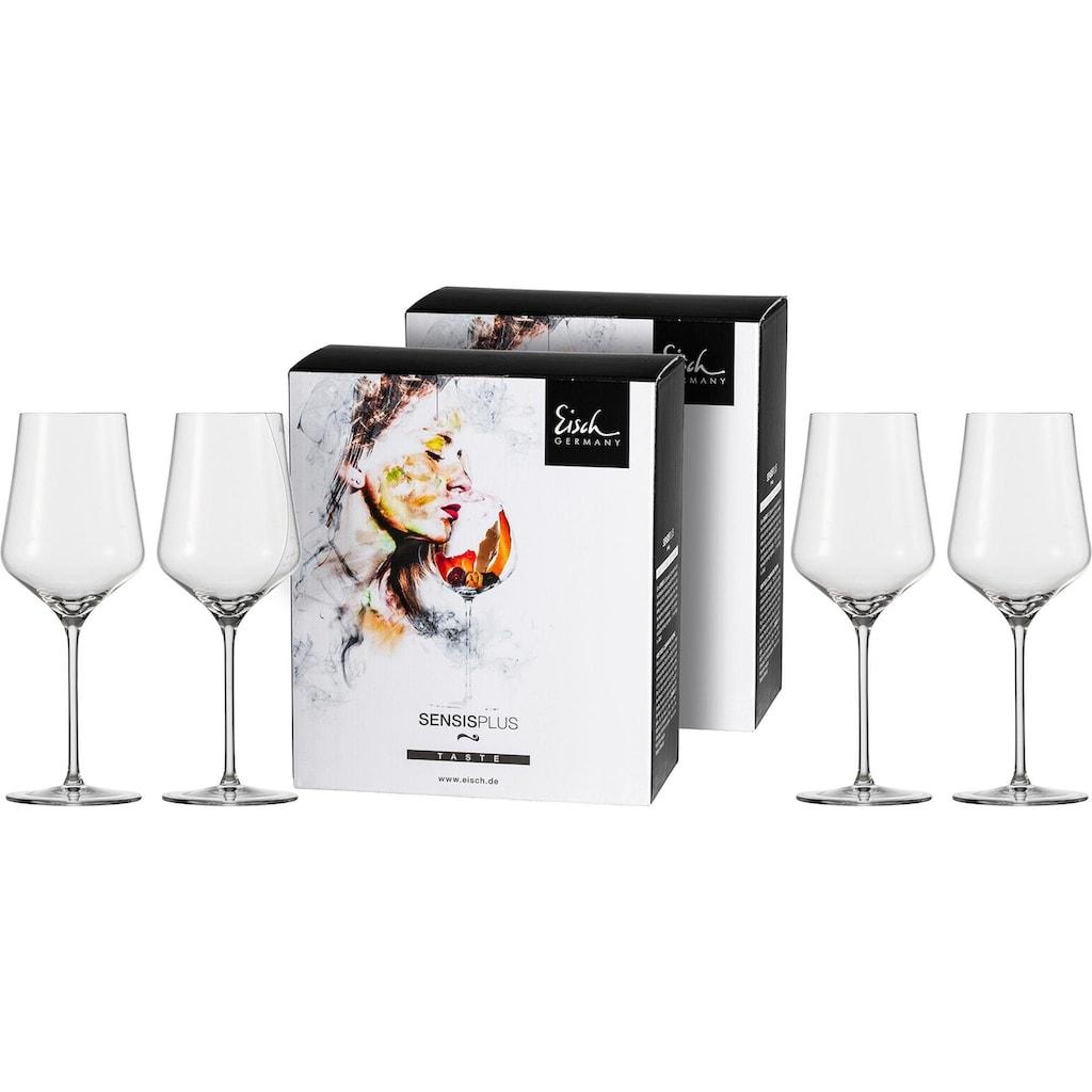 Eisch Rotweinglas »Sky SensisPlus«, (Set, 4 tlg.), bleifrei, 490 ml, 4-teilig