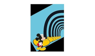 Komar Poster »Mickey Mouse Foot Tunnel«, Disney, Höhe: 50cm kaufen