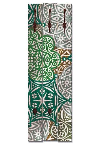 Artland Garderobenpaneel »Marokkanischer Stil_grün« kaufen