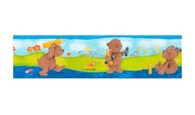 LIVINGWALLS Bordüre »Stick Ups Bärchen«, für das Kinderzimmer, selbstklebend kaufen