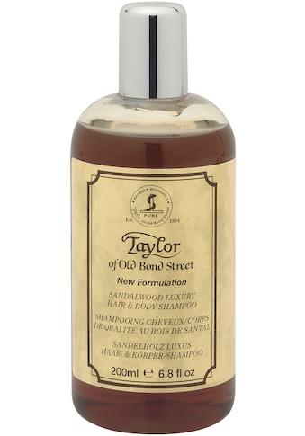 Taylor of Old Bond Street Duschgel »Dusch-/Badegel und Shampoo Sandelholz, 200 ml« kaufen