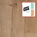 BODENMEISTER Spar-Set: Laminat »Schiffsboden Eiche natur«, 1376 x 193 mm, Stärke: 7mm