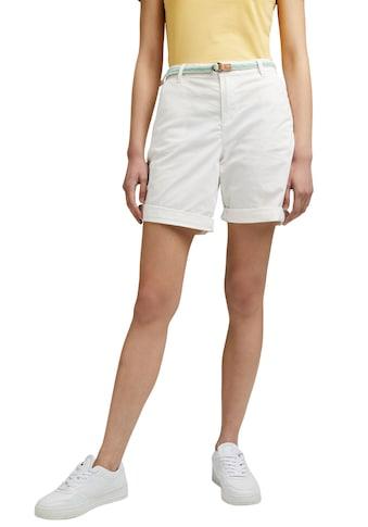 Esprit Shorts, (Set, mit abnehmbarem Gürtel), mit sommerlichem Flechtgürtel kaufen