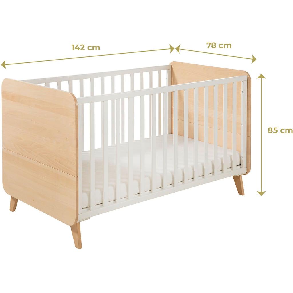Geuther Babymöbel-Set »Traumwald«, (Spar-Set, 2 St.), mit Kinderbett und Wickelkommode; Made in Germany