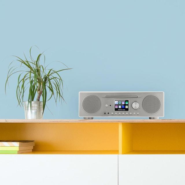 Auna CD Internetradio DAB+ Radio Netzwerkplayer MP3 Bluetooth Spotify »Connect«