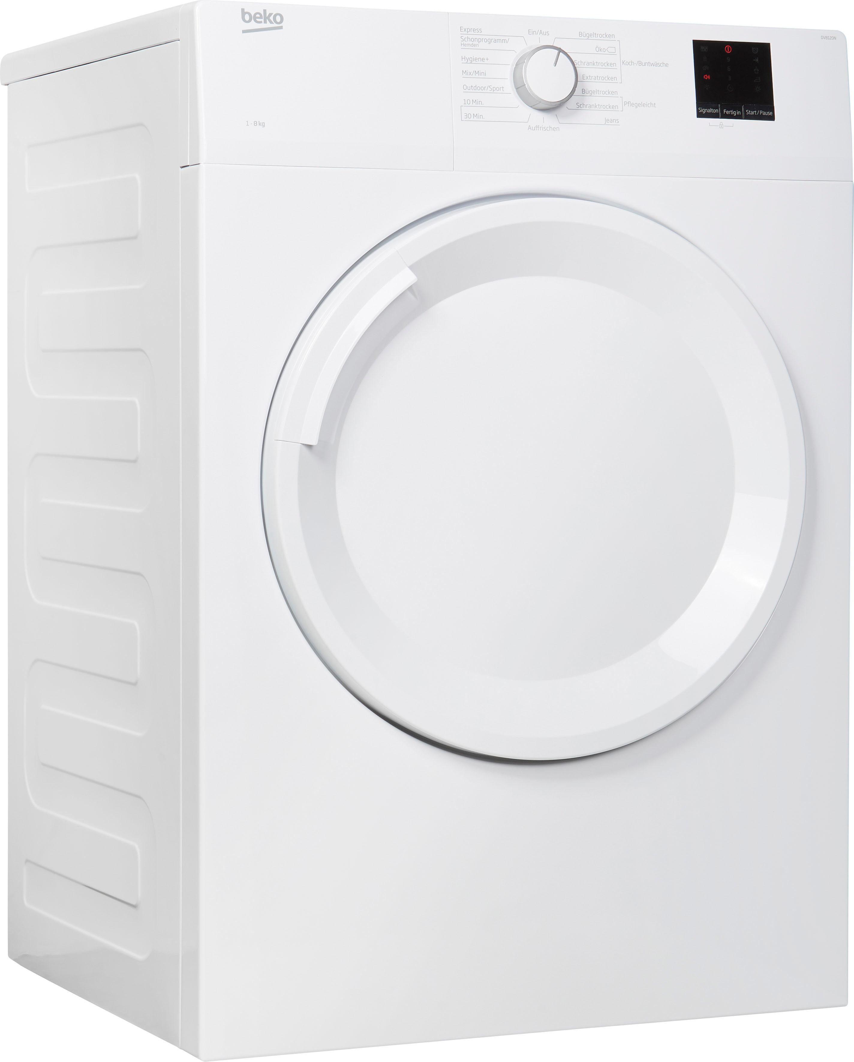BEKO Ablufttrockner DV8120N, 8 kg   Bad > Waschmaschinen und Trockner > Ablufttrockner   Beko