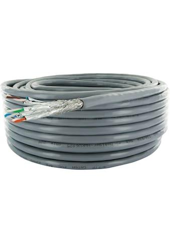 SCHWAIGER CAT6A Installationskabel, Netzwerkkabel, Ethernet LAN Kabel »Patchkabel ohne... kaufen