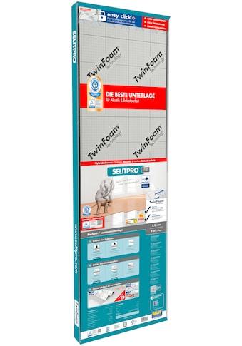 Selit Trittschalldämmplatte »SELITPRO«, für Parkett-/Laminatböden, faltbar kaufen