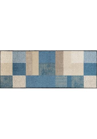 Läufer, »Lanas«, wash+dry by Kleen - Tex, rechteckig, Höhe 7 mm, gedruckt kaufen