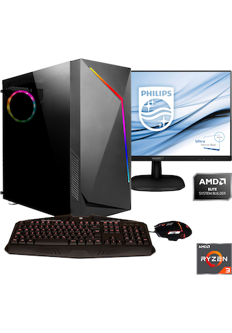 Hyrican »Onyx SET2030« Gaming - PC (AMD, Ryzen 3, Radeon RX 550) kaufen