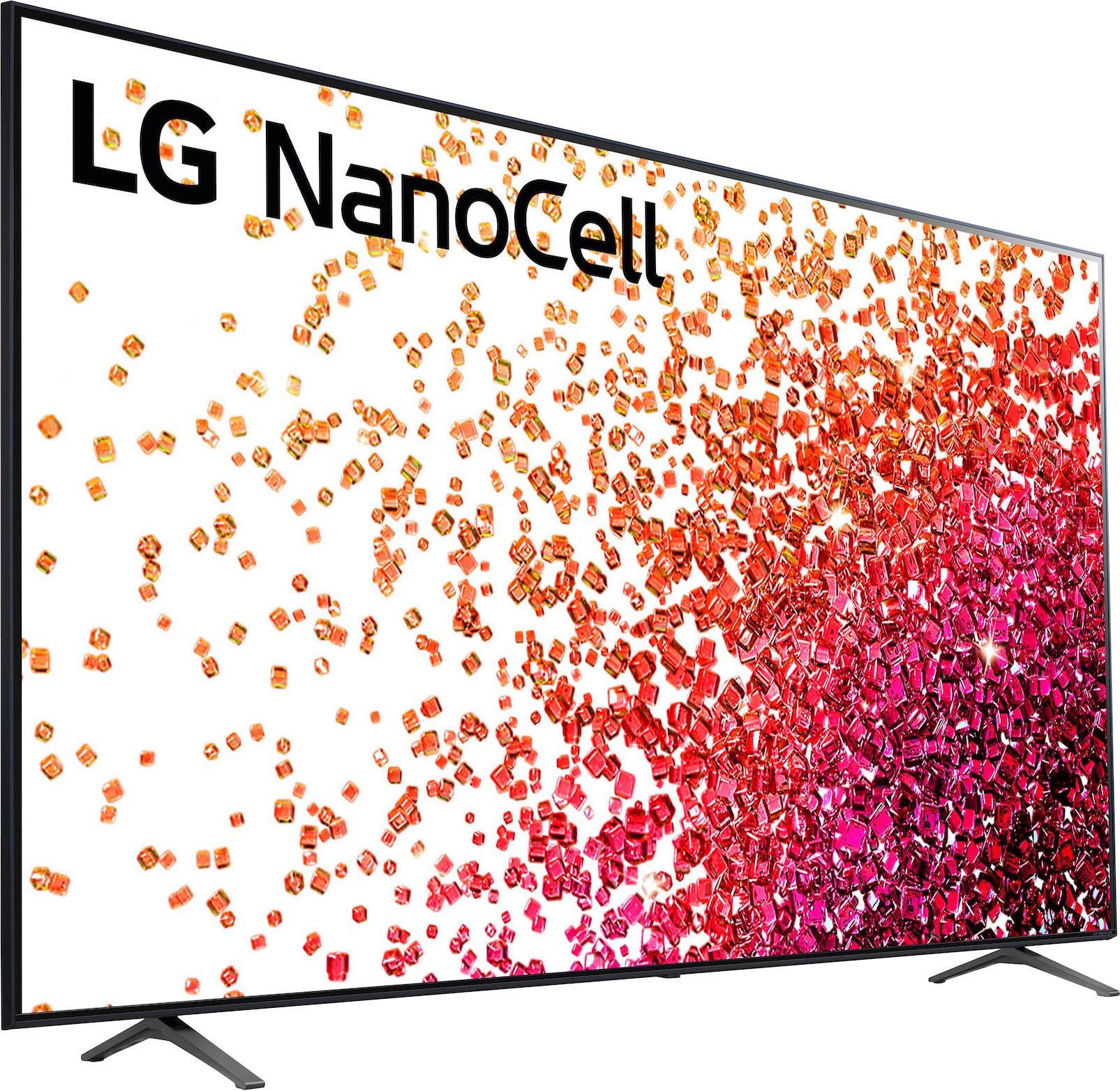 LG LCD-LED Fernseher 86NANO759PA , 217 cm 86 , 4K Ultra HD, Smart-TV, bis zu 120Hz -LG Local Contrast-α7 Gen4 4K AI-Prozessor-Sprachassistenten-Dolby Vision IQ -Dolby Atmos