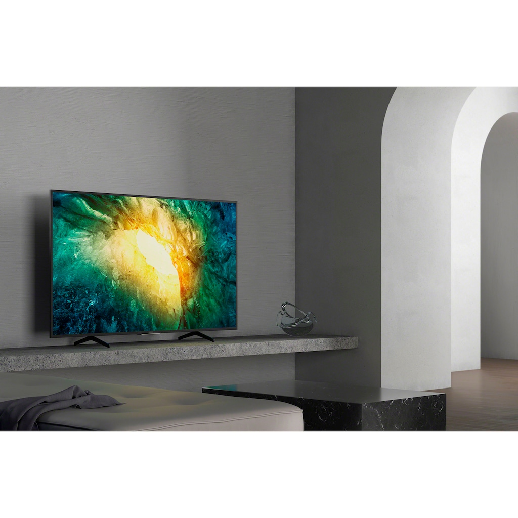 "Sony LED-Fernseher »KD-65X7055«, 164 cm/65 "", 4K Ultra HD, Smart-TV, Bravia"