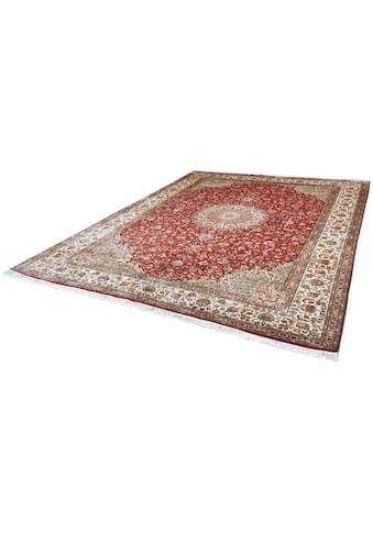Kayoom Seidenteppich »Kashan 8379«, rechteckig, 10 mm Höhe, Einzelstück mit... kaufen