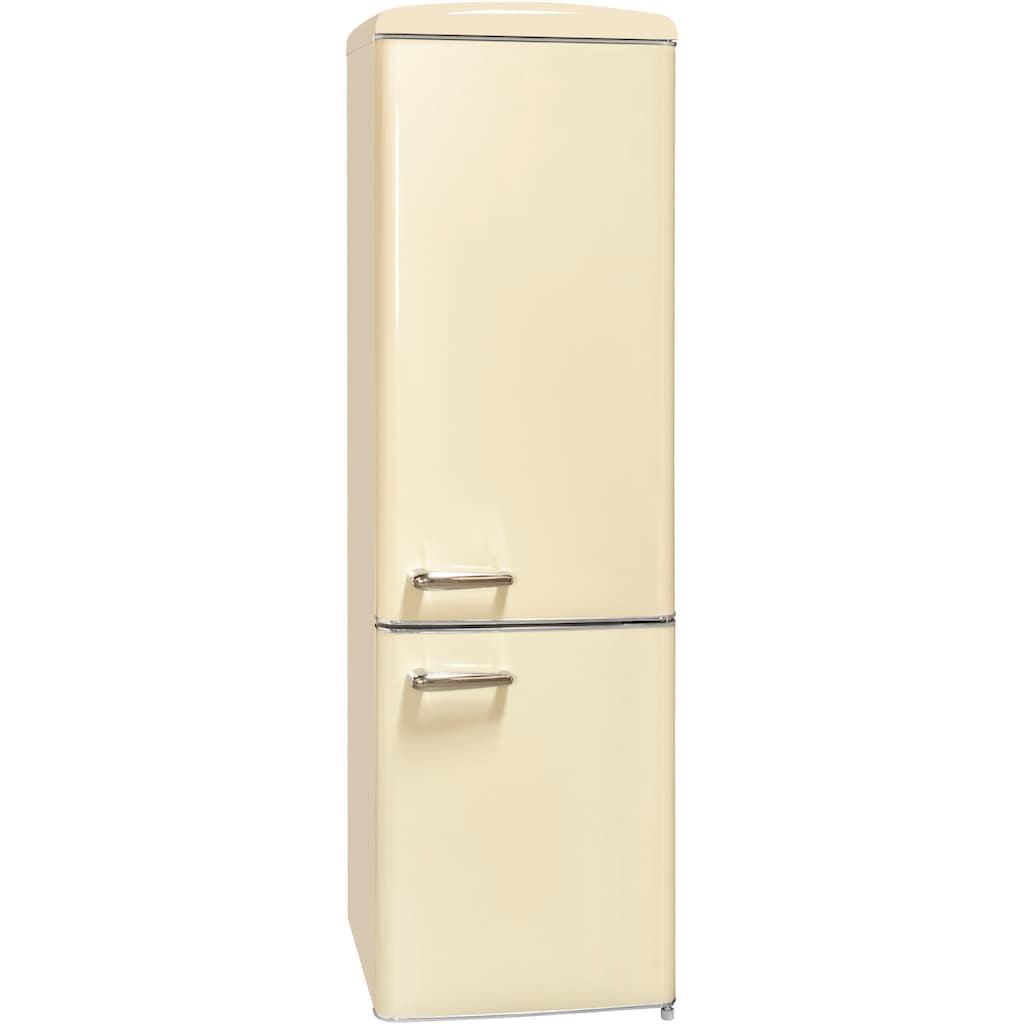 exquisit Kühl-/Gefrierkombination »RKGC250-70-H-160E«