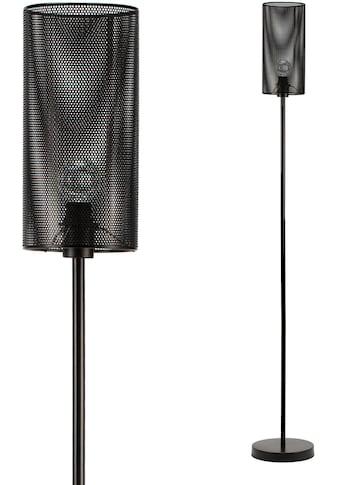 Pauleen Stehlampe »Black Mesh«, E14, 1 St., Metall Schwarz kaufen