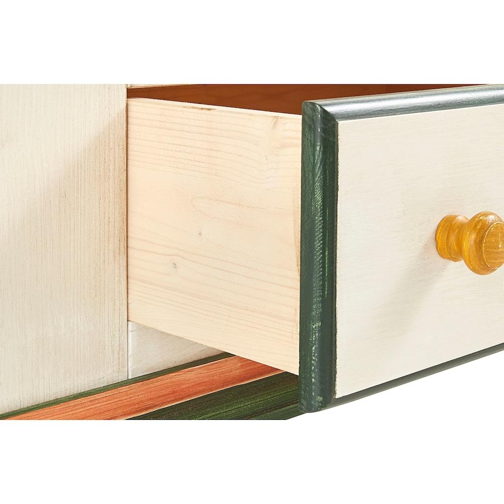 Home affaire Kleiderschrank »Zitrone«, mit schönem handgemalten Zitronengemälde, Breite 108 cm