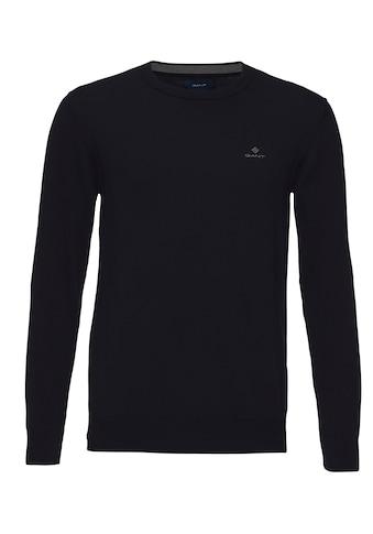 Gant Rundhalspullover »CLASSIC COTTON C-NECK« kaufen