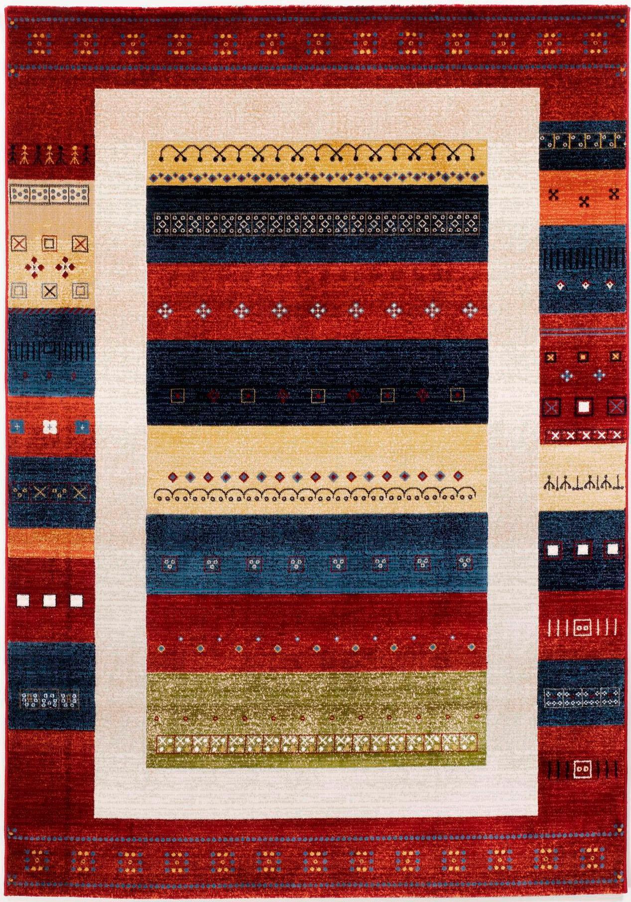 Teppich, »Megaglance Kaska«, OCI DIE TEPPICHMARKE, rechteckig, Höhe 8 mm, maschinell gewebt | Heimtextilien > Teppiche > Sonstige-Teppiche | OCI
