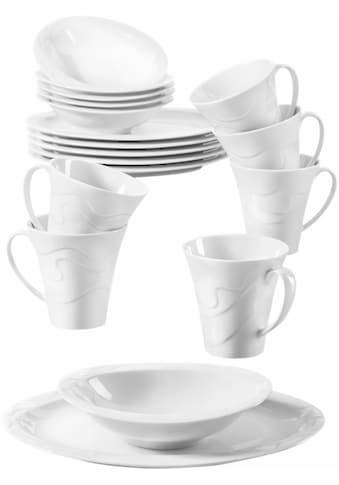 """Seltmann Weiden Frühstücks - Set """"Allegro"""" (18 - tlg.), Porzellan kaufen"""