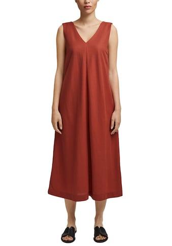 Esprit Collection Jerseykleid, mit V-Ausschnitt vorne und hinten kaufen