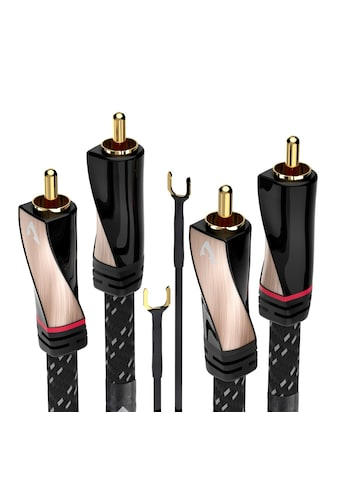 AVINITY Stereo Cinch-Kabel, Gewebe, vergoldet, Remote kaufen