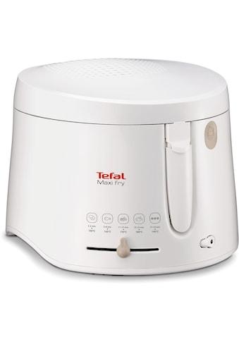 Tefal Fritteuse »Maxifry FF1000«, Fassungsvermögen für 1,2 kg, abnehmbarer, spülmaschinengeeigneter Deckel kaufen