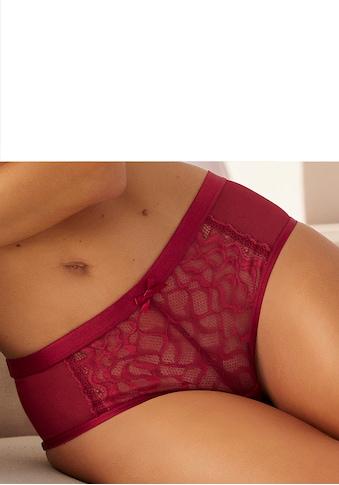 LASCANA Panty, aus modernem Spitzenmix kaufen