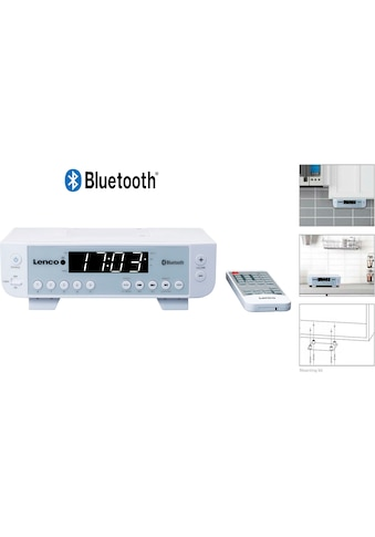 Lenco Küchen-Radio »KCR-100«, (Bluetooth FM-Tuner 2 W) kaufen