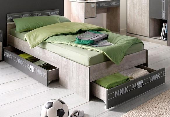Jugendbett mit Stauraum