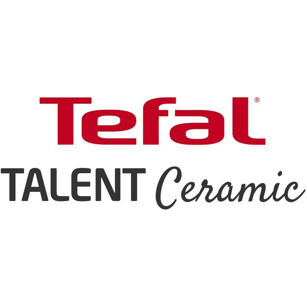 Tefal Bratpfanne »TALENT Keramik«, Aluminium, (1 tlg.), Induktion, THERMO-SPOT®