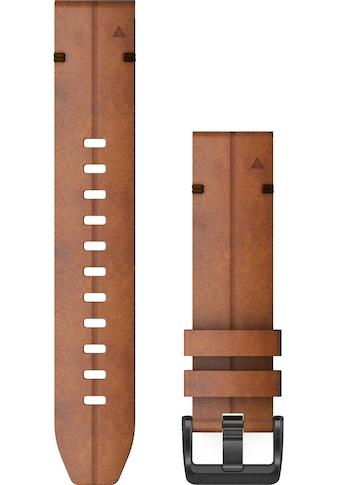 Garmin Ersatz - /Wechselarmband »Ersatzarmband QuickFit 22 mm Leder« kaufen