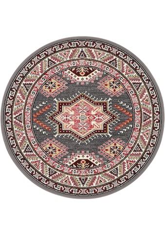 NOURISTAN Teppich »Saricha Belutsch«, rund, 9 mm Höhe, Kurzflor, Orient-Optik, Wohnzimmer kaufen
