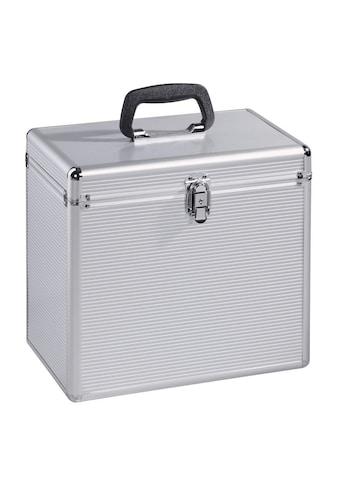 Hama LP Koffer 50, Koffer für bis zu 50 Schallplatten, silber kaufen