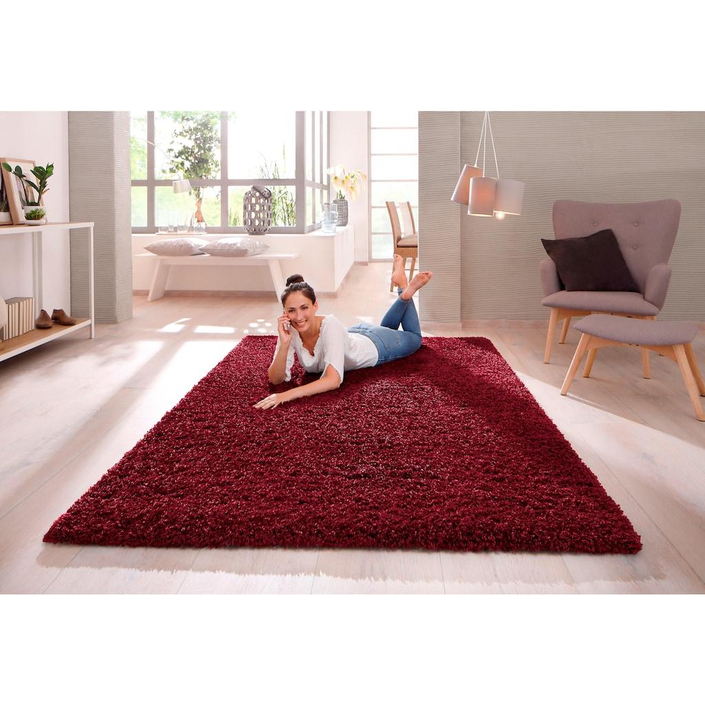 Home affaire Hochflor-Teppich »Viva«, rechteckig, 45 mm Höhe