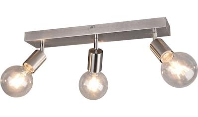 TRIO Leuchten Deckenstrahler »VANNES, Deckenspots, Balken 3-flammig«, E27, 1 St.,... kaufen