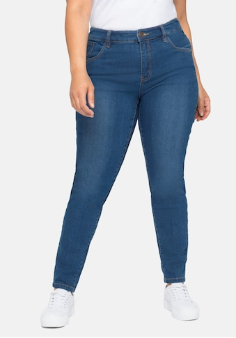Sheego Stretch-Jeans, Skinny in Five-Pocket Form kaufen