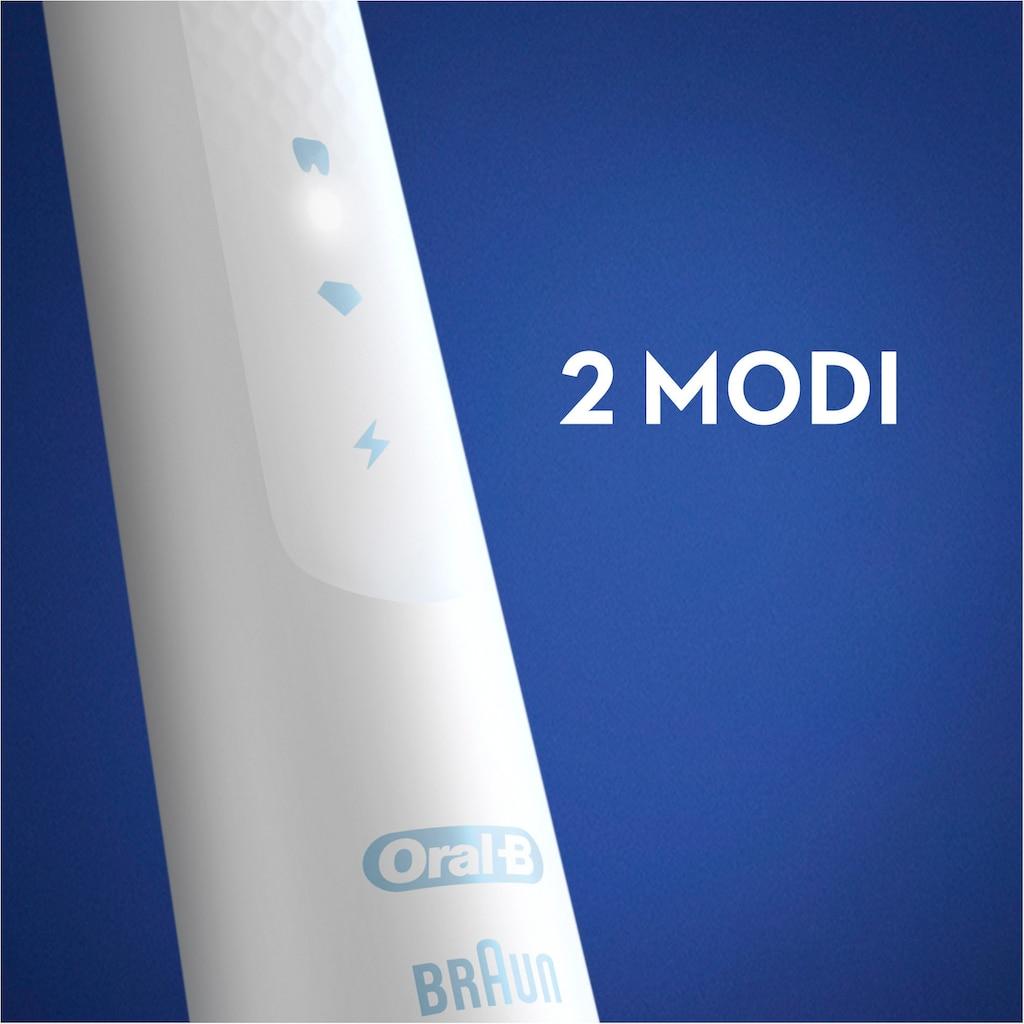 Oral B Schallzahnbürste »Pulsonic Slim Clean 2500«, 2 St. Aufsteckbürsten, mit Reissetui