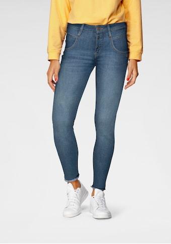 GANG Ankle-Jeans »Medina«, mit leicht ausgefranster Kante am Saumabschluss kaufen