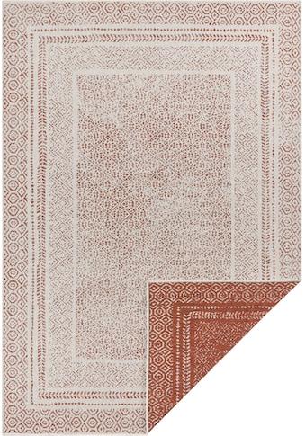 Home affaire Teppich »Bernard«, rechteckig, 5 mm Höhe, Wendeteppich, In- und Outdoor... kaufen