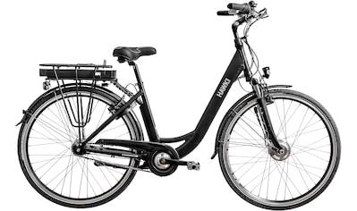 HAWK Bikes E - Bike »HAWK eCity Wave Black«, 7 Gang Shimano Nexus 7G Schaltwerk, Frontmotor 250 W kaufen