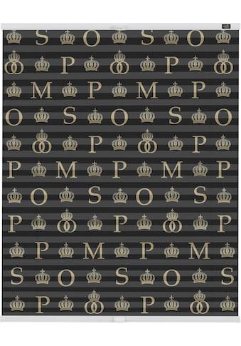 Plissee, »Klemmfix Motiv Noir classique«, POMPÖÖS by Lichtblick, blickdicht, ohne Bohren kaufen