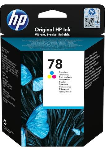 HP »hp 78 Original Cyan, Magenta, Gelb« Tintenpatrone (1 - tlg.) kaufen