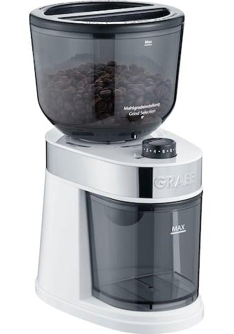 Graef Kaffeemühle CM 201, weiß, Scheibenmahlwerk kaufen