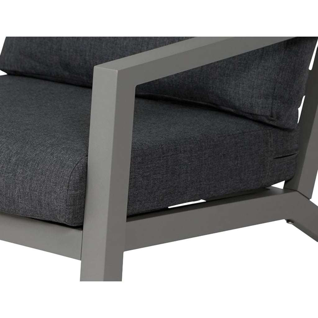 Siena Garden Loungesessel »Loungesessel Belia«, Aluminium, inkl. Auflagen