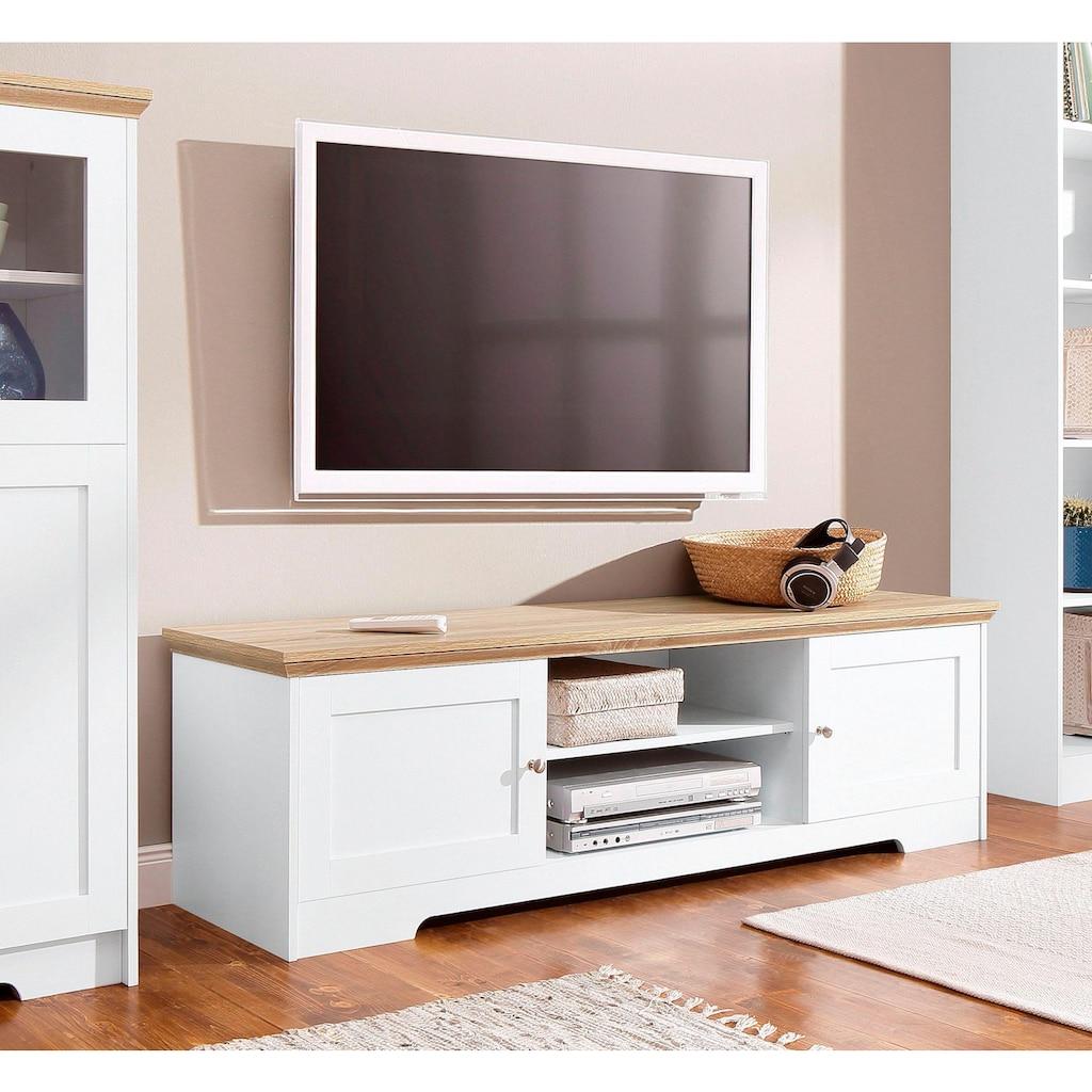 Home affaire Lowboard »Nanna«, mit einer schönen Eichen-Optik Oberfläche, in zwei unterschiedlichen Breiten