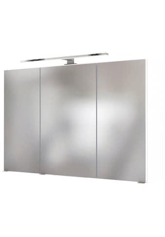 HELD MÖBEL Badezimmerspiegelschrank »Livorno 3D-Spiegelschrank 100«, Inklusive... kaufen
