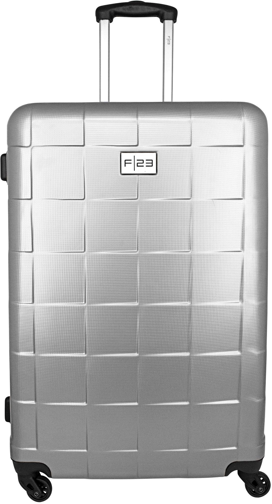 F23™ Hartschalen-Trolley Wave 3.0, 78 cm, silberfarben, 4 Rollen   Taschen > Koffer & Trolleys > Trolleys   F23