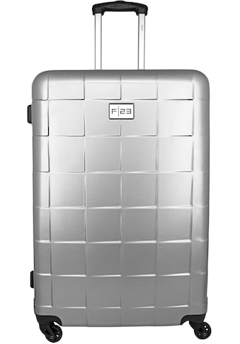 F23™ Hartschalen-Trolley »Wave 3.0, 78 cm, silberfarben«, 4 Rollen kaufen