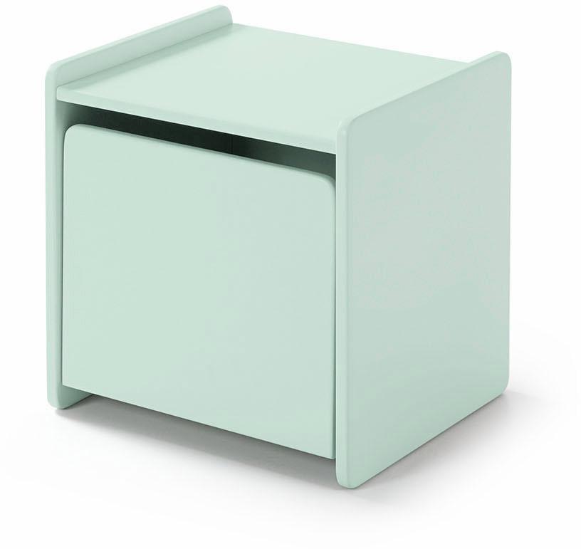 Vipack Nachttisch »Kiddy«, MDF-Oberfläche   Schlafzimmer > Nachttische   Grün   Mdf   VIPACK FURNITURE
