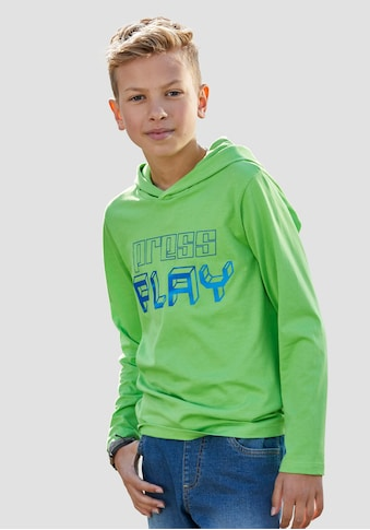 KIDSWORLD Kapuzenshirt »PRESS PLAY« kaufen